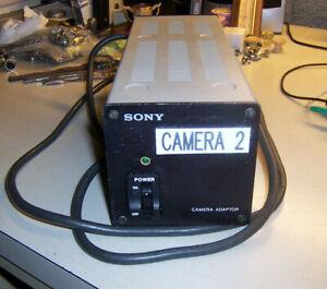 Sony model No. CMA-7 Camera Adapter / Power Supply 13VDC 3.5A