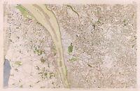 MAP ANTIQUE CASSINI FRANCE 18TH CENTURY SAINTONGE REPLICA POSTER PRINT PAM0809
