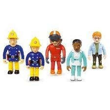 Fireman Sam Set of 5 Articulated Figures Figure Play set