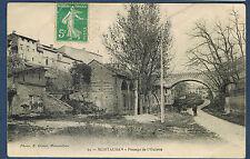 CARTE POSTALE (059) - VUE SUR LE PASSAGE DE L'OULETTE à MONTAUBAN