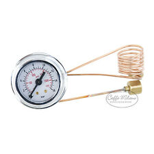 Isomac Zaffiro Tea Millenium Manometer Pumpenmanometer 16 Bar - Caffe Milano
