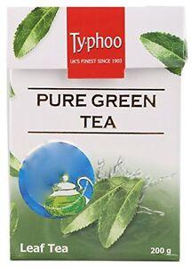 Caffeine Free loose Tea Ty.phoo green leaf Tea green tea leaf 200 Gm
