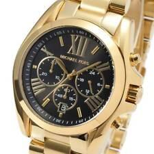 Michael Kors MK 5739 Bradshaw 44 mm Unisex Gold-Tone Wrist Watch