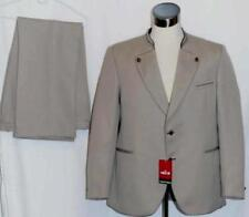 "BEIGE WOOL BAVARIAN Suit JACKET & PANTS German Men LONG SLEEVES c47"" w39"" L"