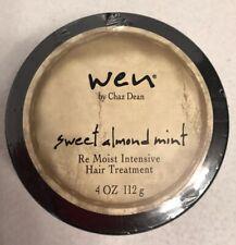 NEW! Amazing! Wen SWEET ALMOND MINT Re Moist Intensive Hair Treatment Sealed 4oz