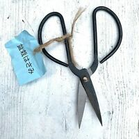 "New Medium 6"" Bonsai Scissors Old Japanese Style Butterfly Shears Carbon Steel"
