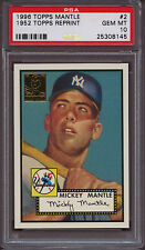 1996 Topps Mickey Mantle #10 Baseball Card