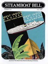 "#223 Porto Rico Line History- ""Steamboat Bill"" Fall 1997 - SSHSA MAILS WORLDWIDE"