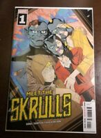 Meet the Skrulls #1 🔑FIRST APPEARANCE OF THE WARNERS 🔑 SPEC BOOK🔑 VF+
