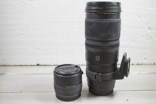 Obiettivo Canon - Sigma 70-200 2.8 APO DG HSM EX con moltiplicatore di focale 2x