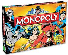 Monopoly DC Comics Originals Board Game Brand New
