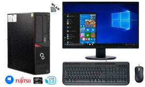 "Fujitsu Esprimo PC SET | INTEL i5 4590  | + 22 "" 24 "" Monitor | Samsung Evo SSD"