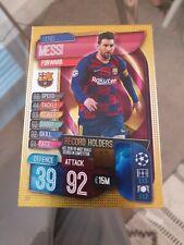 BARCELONA Panini Adrenalyn Card TOP MASTER Rare MESSI FIFA 365 2017
