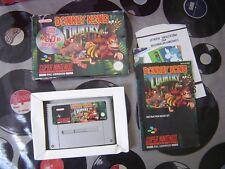 SNES Donkey Kong Country (with box & manual) PAL