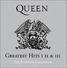 QUEEN - PLATINUM COLLECTION: GREATEST HITS 1-3 (BOX) (CD) Sealed