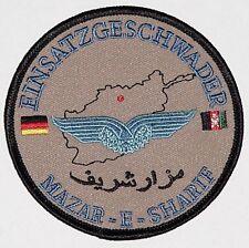 Aufnäher Patch ISAF Einsatzgruppe EG Mazar-e Sharif .............A2803