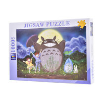 1000 Piece Jigsaw Puzzles Wooden Puzzle Adult Kids Assembling My neighbor totA8A