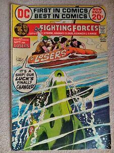Vtg Comic Book Our  Fighting Forces DC #138 July Aug 1972 Capt Storm Unread War