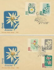Poland FDC (Mi. 1020-24) Protected flowers #2