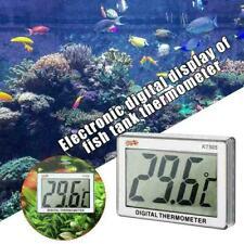 Mini Lcd Digital Fish Tank Aquarium Thermometer Water L6C0 Temper Meter Uk M8J4