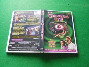 THE CRAWLING EYE aka THE TROLLENBERG TERROR - REGION FREE IMPORT DVD