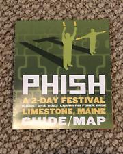 Phish Festival Site Map Poster * Mint * August 2-3, 2003 * It *