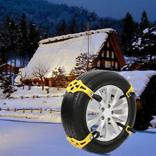 Universal Snow Ice Mud Anti-Skid Grip Emergency Auto Car Truck Wheel Tire Chain