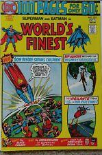 WORLD'S FINEST #225 VF 8.0 DC 10/1974 SUPERMAN & BATMAN