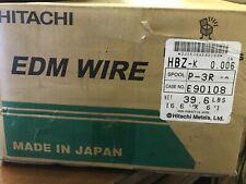 "New 4 Spool Hitachi Edm Machine Wire Hbz-K0.006 20 Kg./44.10Lb total Size 0.006"""