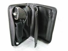 Black PVC Case For Walther PP, PPK/S, Star SA 7.65 mm .32 ACP with Magazine Stor