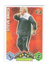 Match Attax Premier League 09/10 - 440 - STEVE BRUCE - MANAGER -