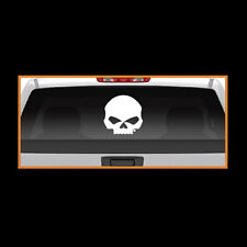 harley davidson willie g skull motorcycle bike rear window graphic sticker decal