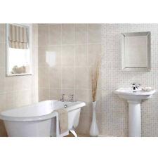 Laura Ashley 10 x Cambridge Beige Pressed Mosaic Wall Tiles - 248x398mm LA51263