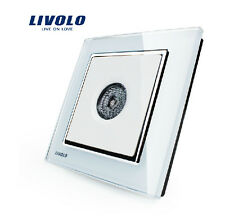 Livolo Wall Mount Voice Sound Activated Light Switch 30 Seconds Glass Panel New