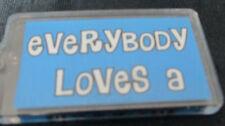 "Soccor ""Everybody Loves-A Soccor Player 2 Sided Acrylic Key Chain"