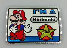 1990 VINTAGE NINTENDO SUPER MARIO BROS VIDEO GAME PRISM VENDING STICKER No 8