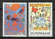 Suriname - 2001 Youth Philately / Drawings -  Mi. 1779-80 MNH
