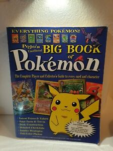 Pojo's Unofficial Big Book Of Pokemon - Player & Collectors Guide Book