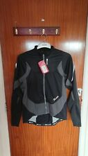 Sugoi RS Zero Waterproof Cycling Jacket - Black/Gunmetal - Size Large - New.