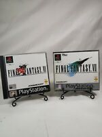 Final Fantasy VI 6 and VII 7 bundle complete all discs PS1 PlayStation games