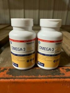 Ocean Blue Omega-3 2100 with Softgels, 120 Count | FREE SHIPPING!