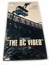 The Dc Video - Dc Shoes Skateboarding Vhs - New, Sealed, Original