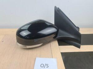 2012 FORD MONDEO 5 Door Hatchback black O/S Drivers Right Door Wing Mirror