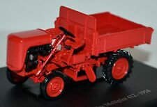 Benetulliere Multiplex 412 Traktor Schlepper 1954 rotorange red-orange 1:43