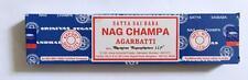 Satya Sai Baba Agarbatti Original Blue Box Nag Champa Incense Sticks 40 grams