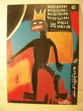 1983 Jean-Michel Basquiat Attributed to Signed Oil Painting on Board