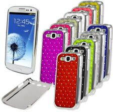 Luxury Chrome Design Case Bling Diamond Cover For Samsung Galaxy S3 SIII i9300
