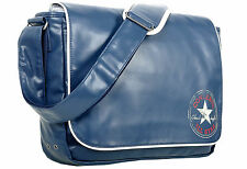 Converse Flap Messenger Vintage PU Bag (Blue)