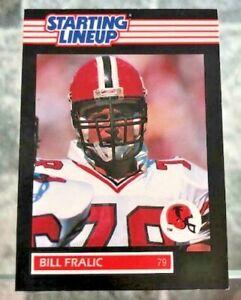 Holy Grail Football Figure 1989 Bill Fralic Atlanta Falcons Starting Lineup CARD