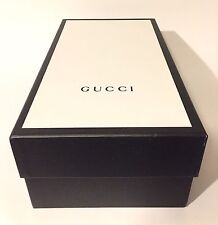 "Authentic GUCCI Empty Black Box 12.5"" x 8.75"" x 4.25"""